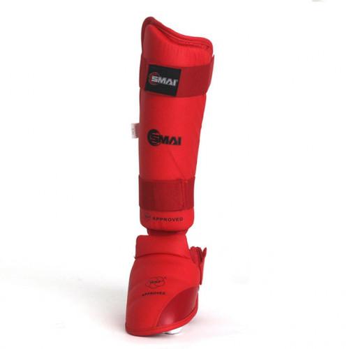 Защита голеностопа SMAI WKF (SM P112) Red р. XL